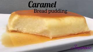 Caramel Bread Pudding recipe   puding roti karamel