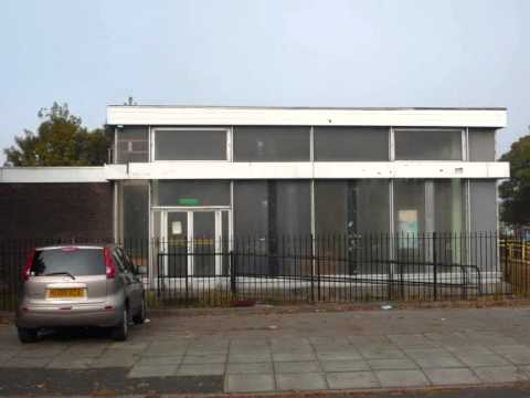 Larkhill Library Liverpool. A nice example of 1960's architecture
