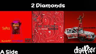 Lil Wayne - 2 Diamonds | No Ceilings 3 (Official Audio)