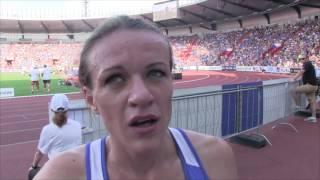 Simona Vrzalová na Zlaté tretře po 1500 m
