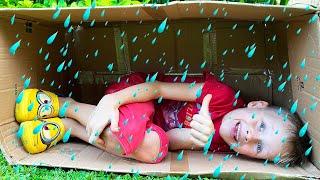 Дождик Дождик уходи - Детская песенка от Алекса и Насти