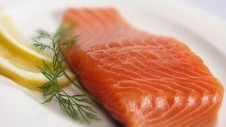 Малосольная рыба (семга)