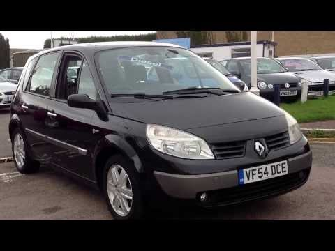 2004 54 Renault Scenic 1.5 DCi Expression at www.gullwingcarsales.co.uk