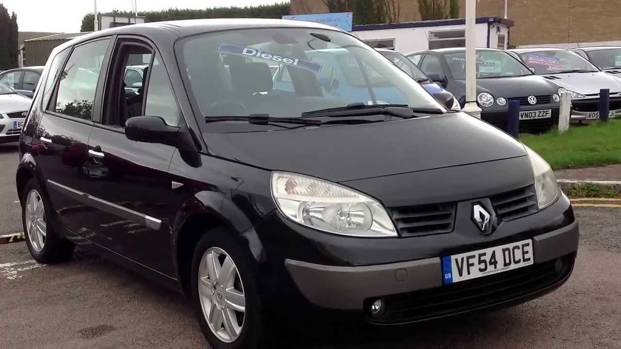 Assez 2004 54 Renault Scenic 1.5 DCi Expression at www.gullwingcarsales  UN88
