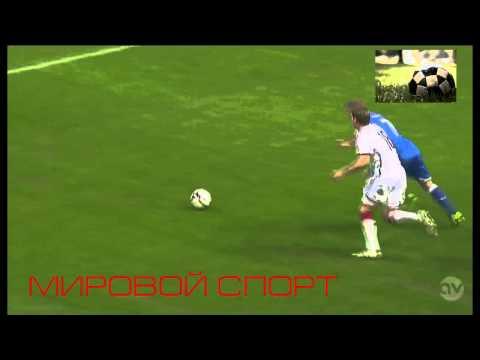 Italy vs Germany ( 1 : 1 Ignazio Abate Amazing Goal)