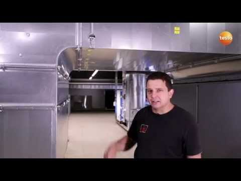 A duct grid measurement with the testo 480 | We measure it. Testo