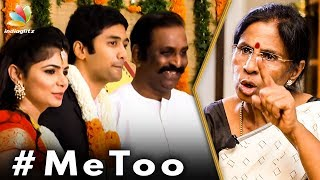 I'm Proud of My Daughter : Chinmayi's Mother Interview | Vairamuthu | MeToo India