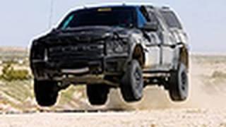 Desert Test: Ford F-150 Raptor 6.2 SuperCrew Prototype