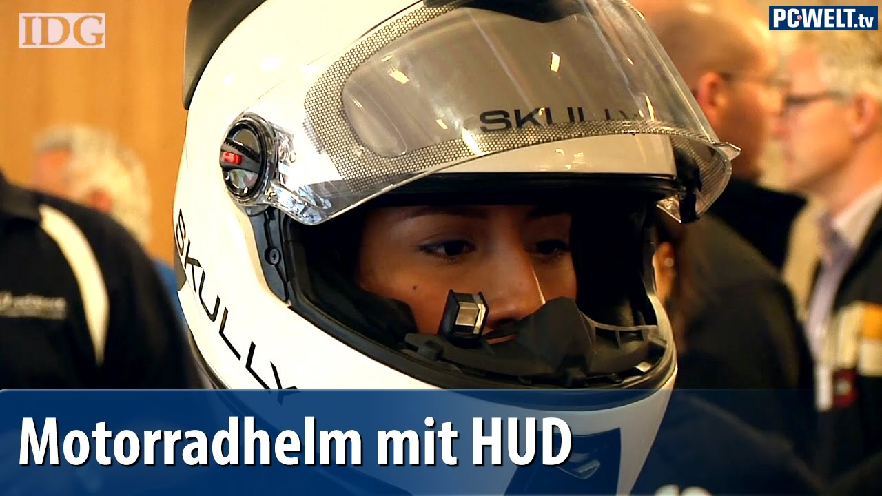 Motorradhelm Mit Head Up Display Skully Ar 1 Vorgestellt