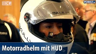 Motorradhelm mit Head-up-Display - Skully AR-1 vorgestellt | deutsch / german
