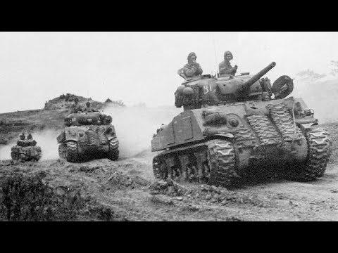Внутри танка Шерман