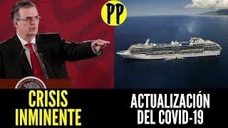 ActualizaciÓn Del Brote 😷 / Aceptan Crisis Inminente / Llegan 3 Cruceros A Vallarta / Pp En Vivo