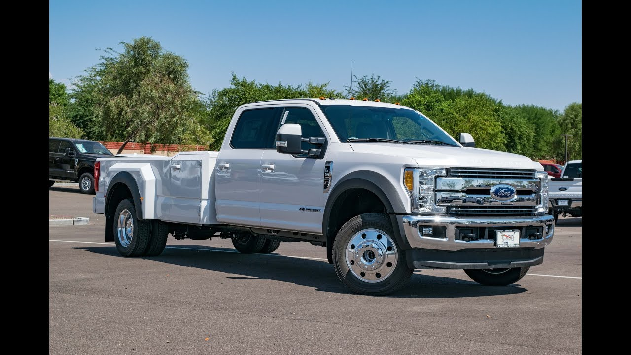 F550 For Sale >> 2017 Ford F-550 Lariat Custom Hauler Body - YouTube