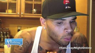 Chris Brown Answers Fan Questions On Ask Anything Chat w/ Romeo, SNOL  - AskAnythingChat