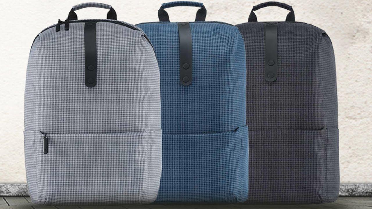 Рюкзак Xiaomi backpack Urban - YouTube