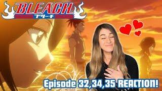 vuclip RENJI AND RUKIA! Bleach Episode 32, 34, 35 REACTION!