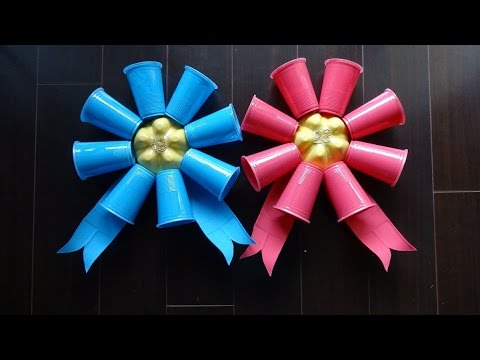 easy-recycled-projects:-funny-birthday-ribbon-from-plastic-bottles-for-adults