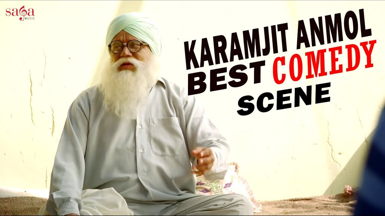 Karamjit Anmol & Gippy Grewal Best Comedy Scene | Manje Bistre 2019 | Punjabi Comedy Movie Scene