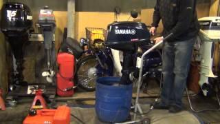 пуск лодочного мотора ямаха