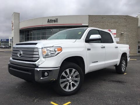 2017 Toyota Tundra Crewmax Limited Review - Brampton ON ...
