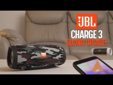 JBL Charge 3 firmware update - BETTER SOUND!