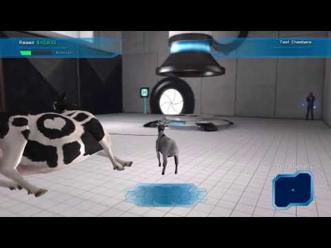 Goat Simulator Waste of Space DLC -  Testaholic Achievement guide