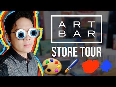 ART HEAVEN!!! ART BAR TOUR   NATIONAL BOOKSTORE , QUEZON AVENUE, MANILA, PHILIPPINES