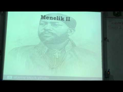 Macias   Monkut and Menelik II Lecture