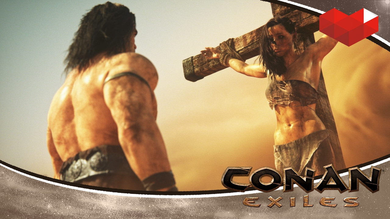 conan exiles first look youtube. Black Bedroom Furniture Sets. Home Design Ideas