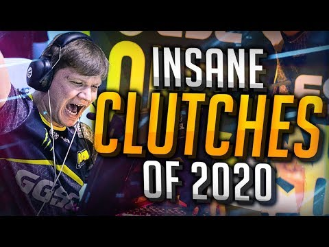 THE BEST PRO CLUTCHES OF 2020! (INSANE PLAYS) - CS:GO