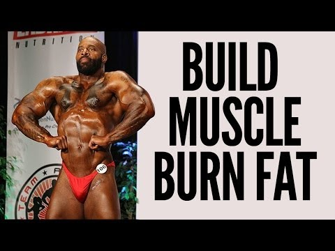 BUILD MUSCLE BURN FAT - \