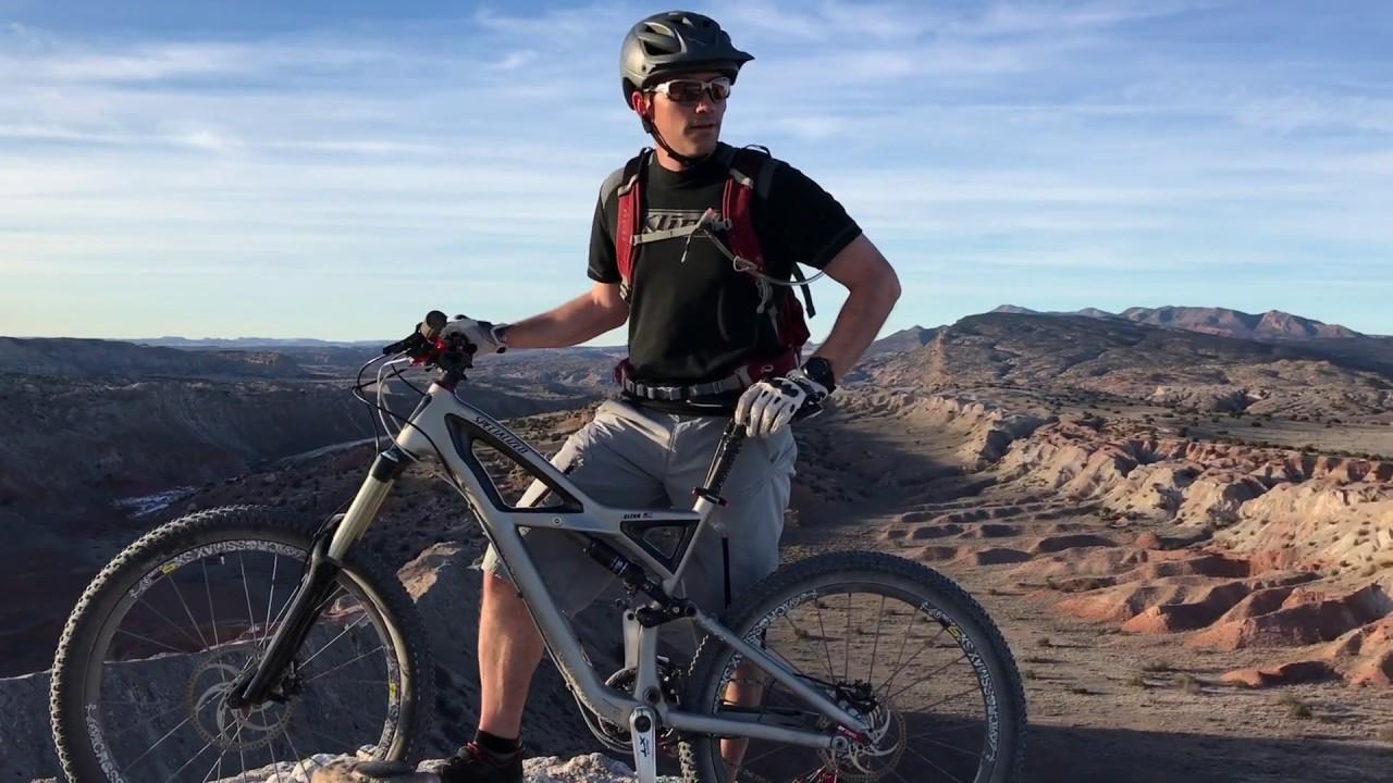 white mesa bike trails nm youtube