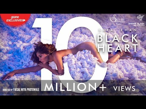 Black Heart | Official | Sara khan | Gaana exclusive |  The Bucketlist Films | Slash Productions