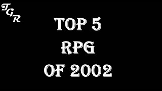 Top rpg games of 2002