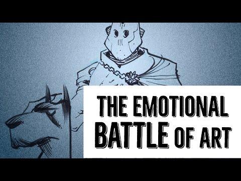 The Emotional Battle of Art