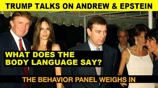 Donald Trump Talks On Jeffrey Epstein and Prince Andrew: Body Language Analysis