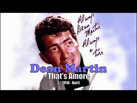 Dean Martin  Thats Amore Karaoke
