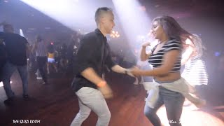 DJ GUSTOSO & JOSY Salsa Social Dance At THE SALSA ROOM