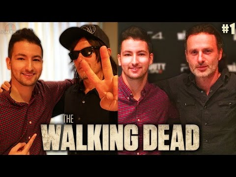 """MEETING THE WALKING DEAD CAST!"" - The Walking Dead / Black Ops 3 NEW YORK VLOG #1!"