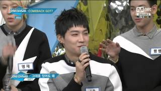 jb got7 charismatic sexy voice