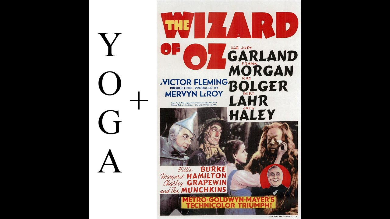 Yoga Symbolism In The Wizard Of Oz Youtube