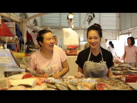 Singapore's Hottest Fishmonger - Kay Kay's Babe Of All Trades Ep 3