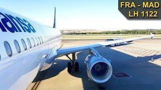 TRIP REPORT | Lufthansa | FRANKFURT - MADRID | Airbus A321
