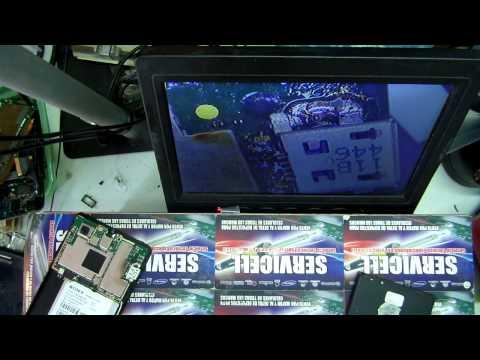 reparacion sony xperia M c1904 no carga , adaptacion pin de bb 9320
