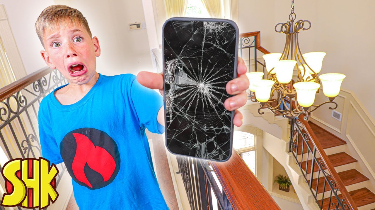 Broken iPhone Mystery! Lie Detector Test Challenge (Who Destroyed the Phone!)