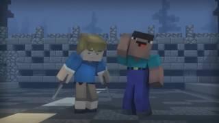 Зомби апокалипсис : полная анимация (minecraft анимация)