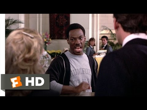 Beverly Hills Cop (1/10) Movie CLIP - Axel Gets a Room (1984) HD