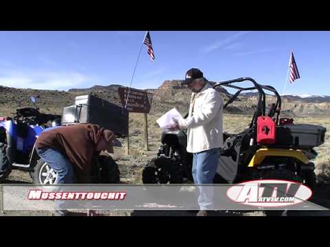 ATV Television Adventure - Mussenttouchit San Rafael Swell Utah