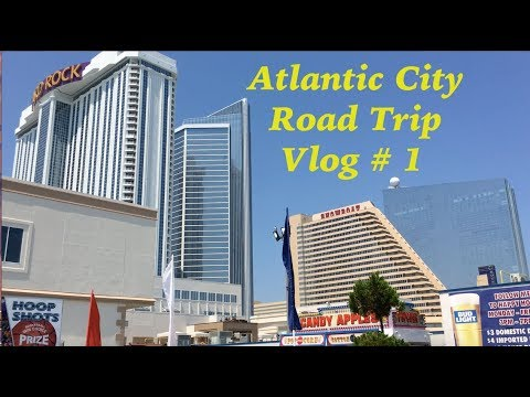 Atlatic City N.J. Vlog # 1--  Road Trip -- Ocean Resort Casino Atlantic City