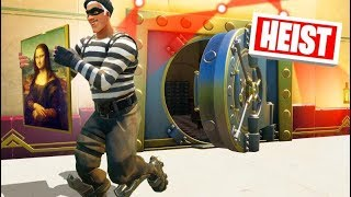 STEALING A $10,000,000 PAINTING In FORTNITE! (Heist)